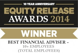 equity release awards 2014 winner