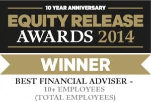 equity release awards 2014 winner