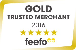 Feefo Trusted Gold Merchant 2016