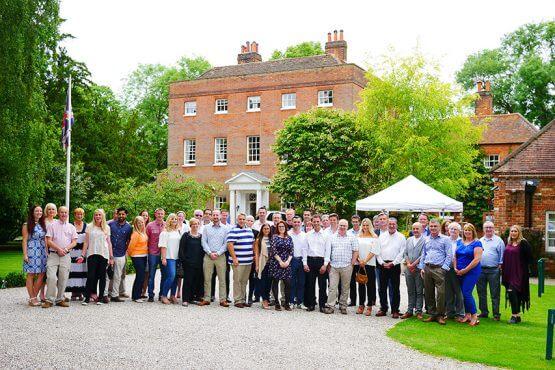 Bower staff celebrating 10th anniversary