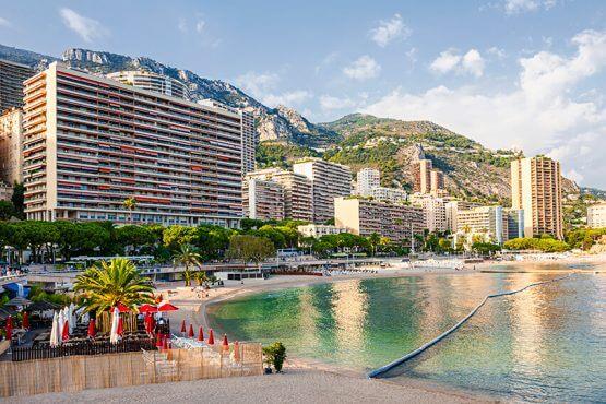 Monaco Larvotto Beach