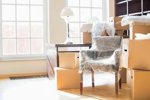 Moving house into rented accomodation