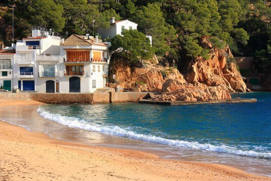 Beach property in Catalonia Spain