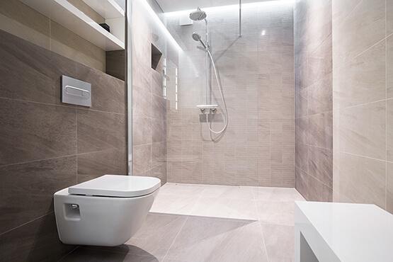 Waterproofed Wet Room