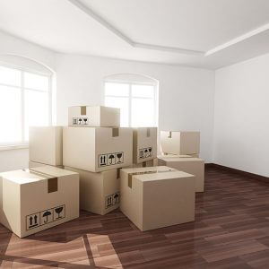 Boxes Moving House