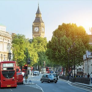 London, top urban retirement destination