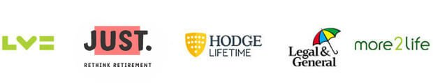 Equity release providers: LVE, Just retirement, Hodge Lifetime, Legal & General, More2Life