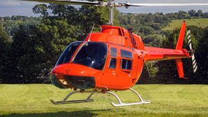 Retirement bucket list #9 - Low flying helicopter, British countryside
