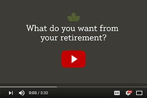Video: what do you want from retirement?