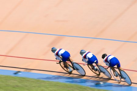 Track Cyclists