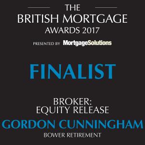 British Mortgage Awards 2017 Finalist, Broker Equity Release - Gordon Cunningham