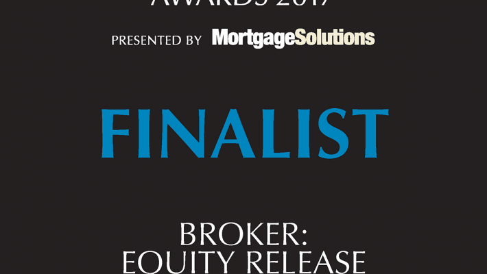 British Mortgage Awards 2017 Finalist, Broker Equity Release - Gordon Cunningham