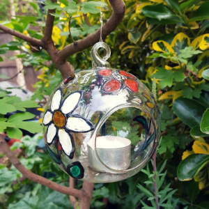 hanging tea light