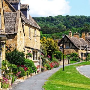 Homes in the Cotswald, UK