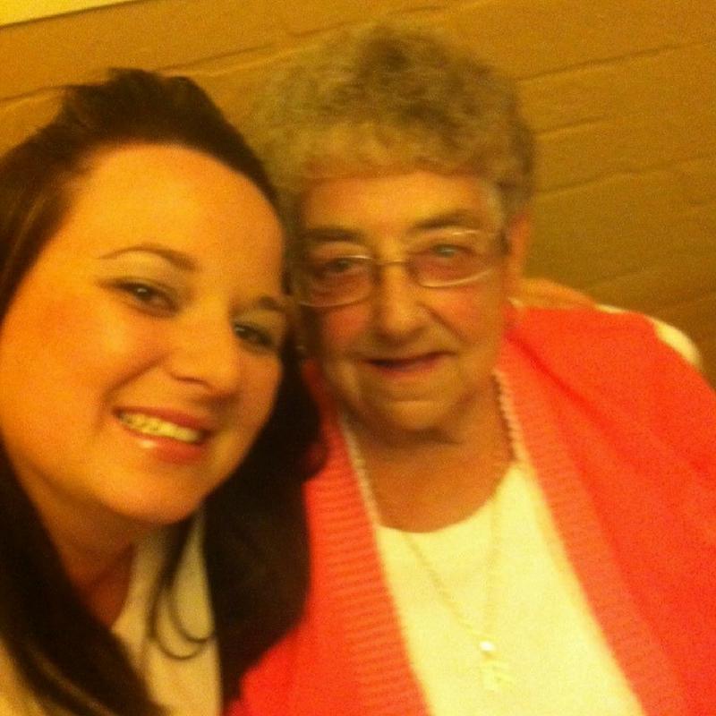Amanda and her nan