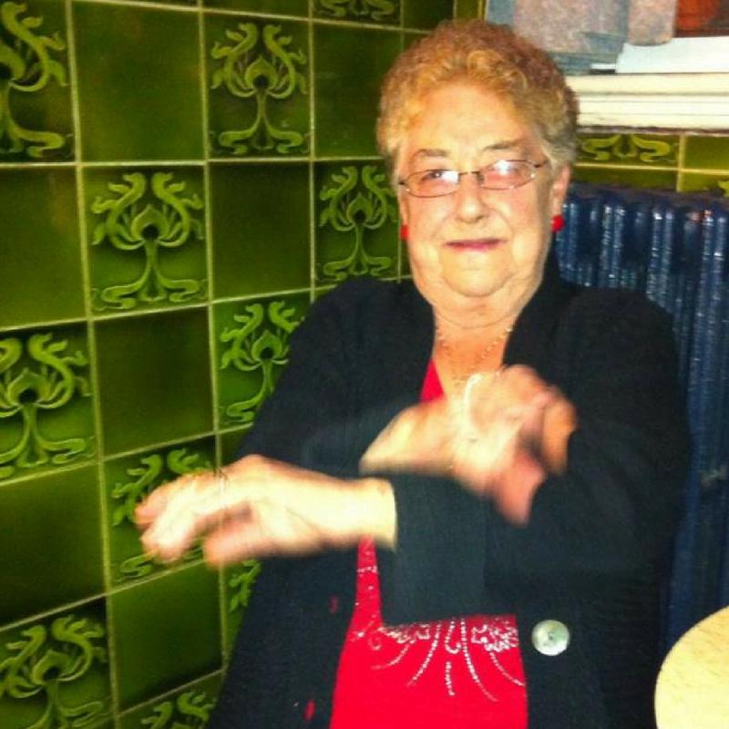 Betty dancing