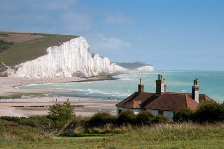 Second home near the white cliffs of Cuckmere Haven, East Sussex