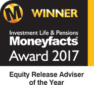 Winner - Moneyfacts Award 2017 - Equity Release Adviser of the Year