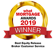 What Mortgage Awards Best Equity Release Customer Service 2019