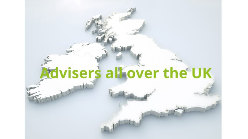 Equity release advisers all over the UK